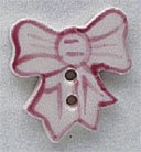 86064 - Pink Bow 5/8in x 3/4in - 1 per pkg